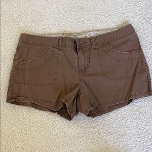 Brown SO junior shorts
